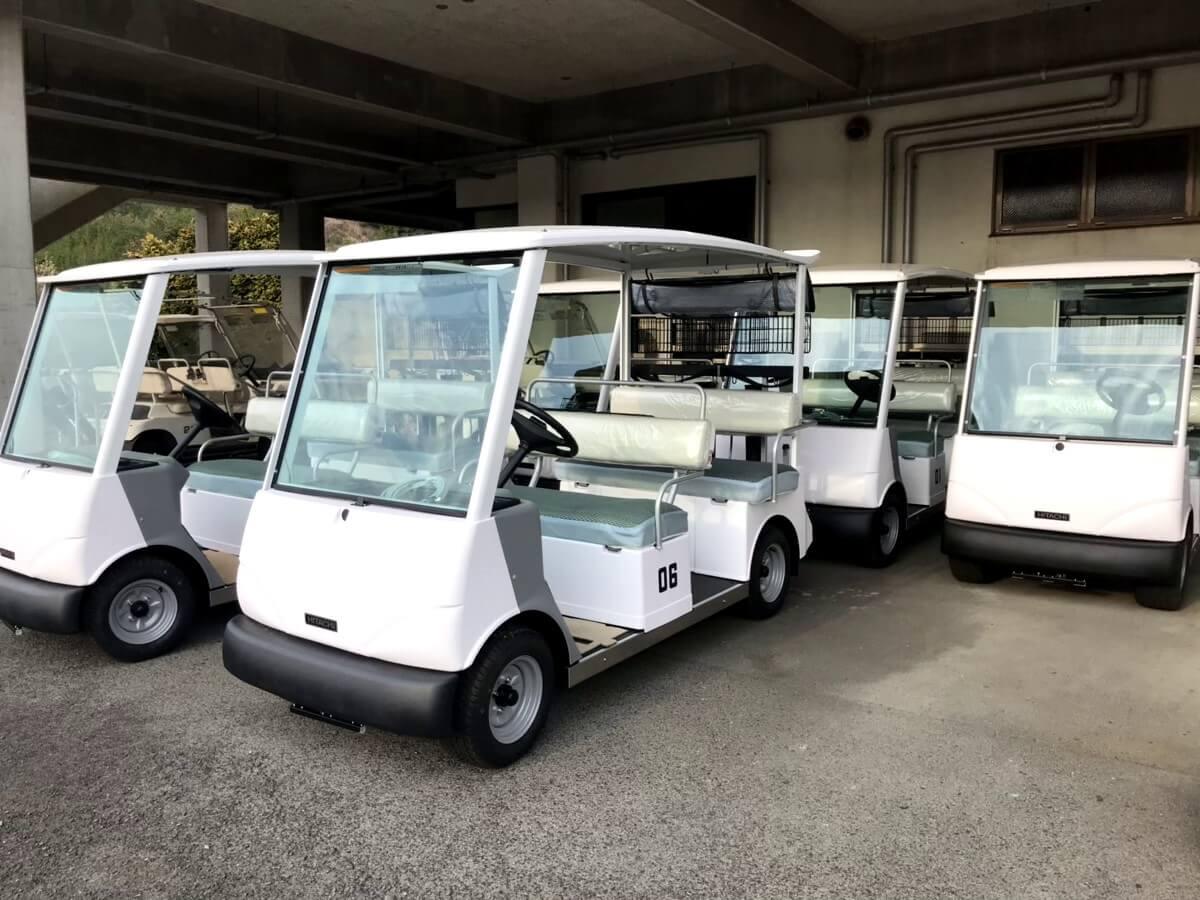 新車ゴルフカート
